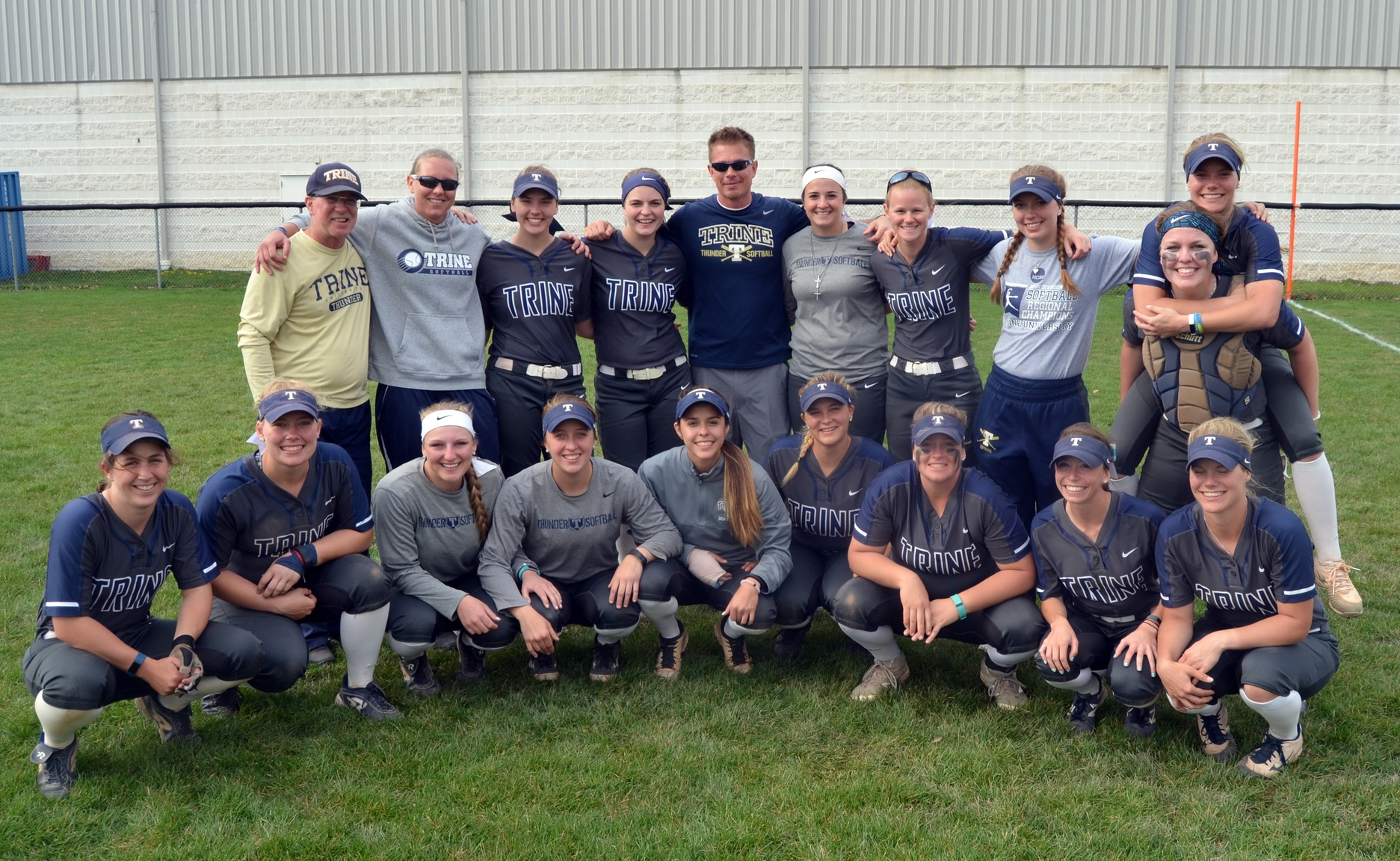 Softball Coaching Staff Named Best in Central Region