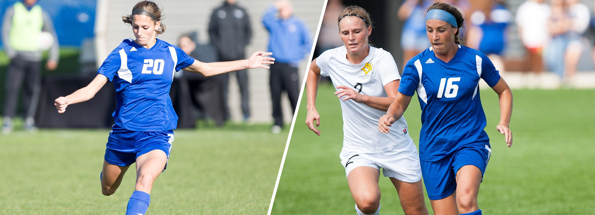 GVSU's Mencotti, Johnson Sweep GLIAC Women's Soccer Week 6 Laurels