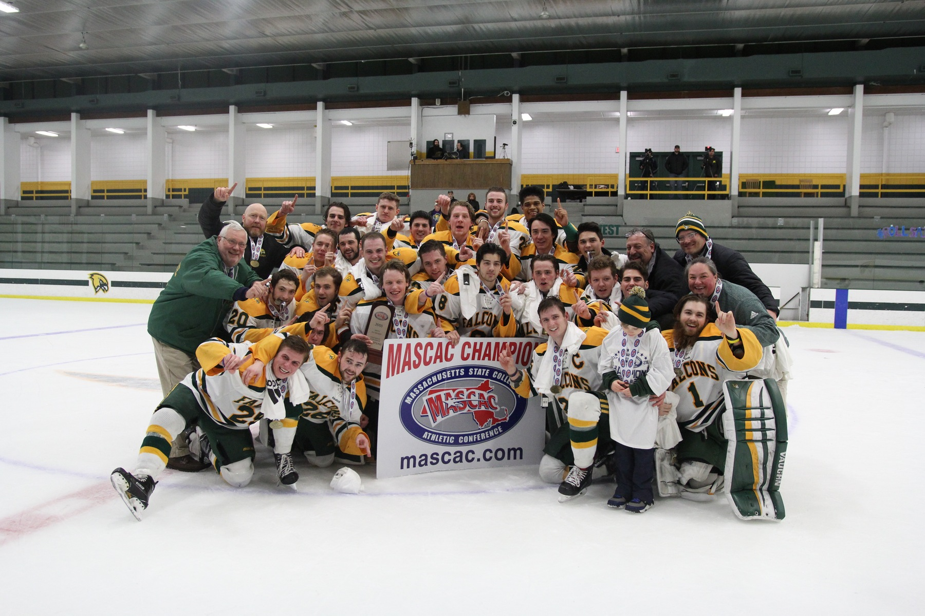 Falcons Capture MASCAC Crown With 2-0 Victory Over Corsairs