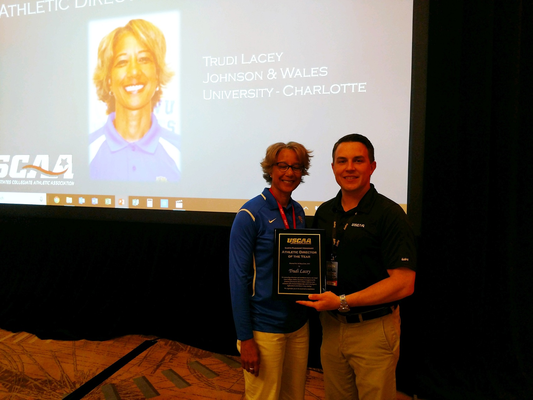 Lacey Named USCAA Athletic Director of the Year