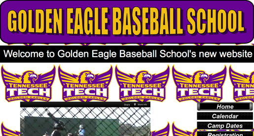 Golden Eagles launch new web site for Baseball School