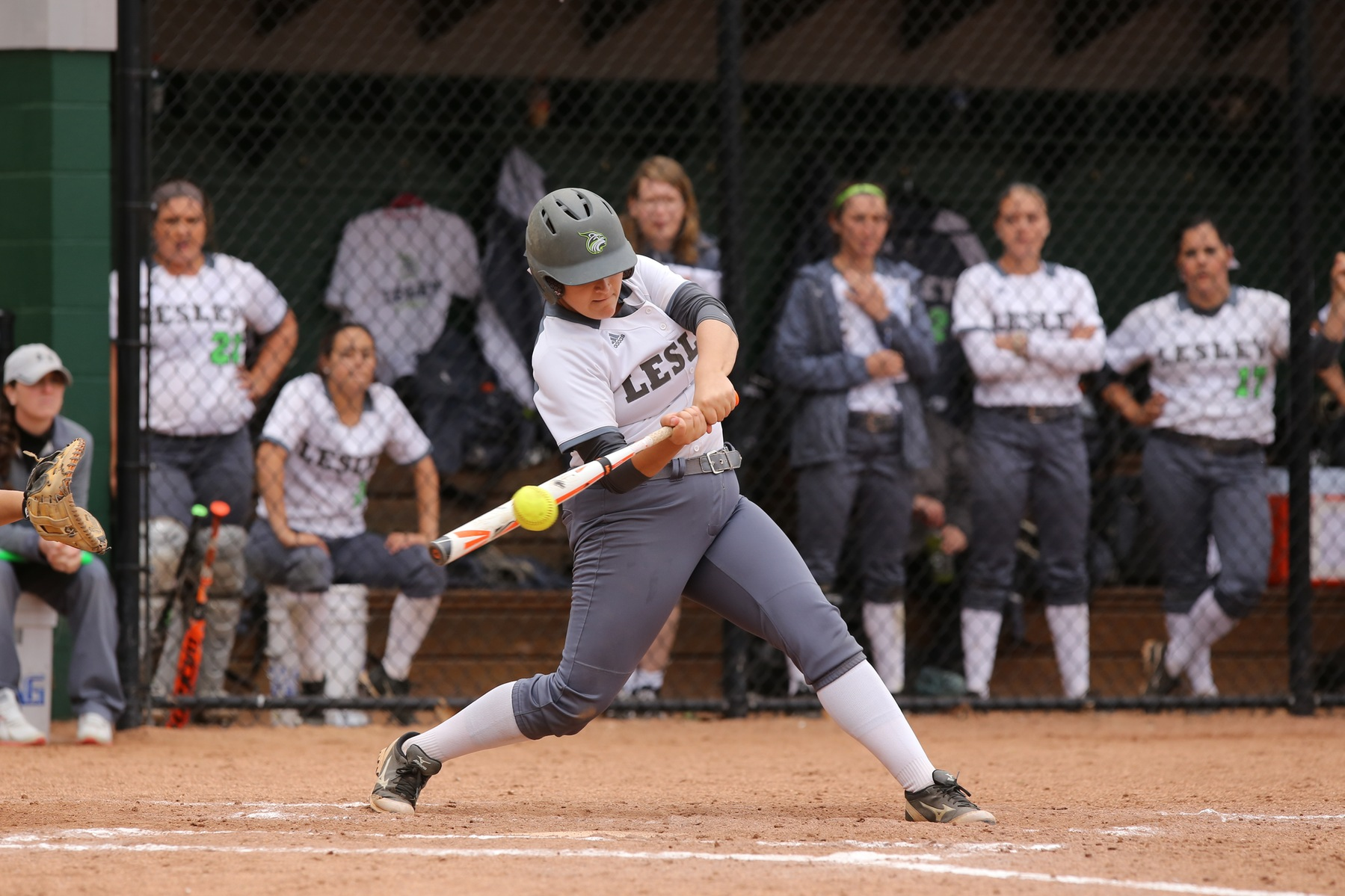 Softball Splits Non-Conference Action at Emerson