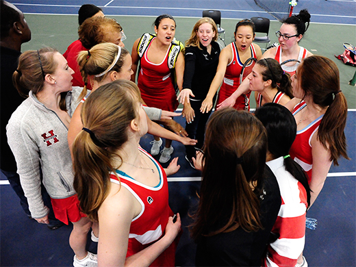 Season Review: Women's tennis makes it 5 straight years in the Centennial tournament