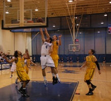 Falcons rally past Muskies 95-84