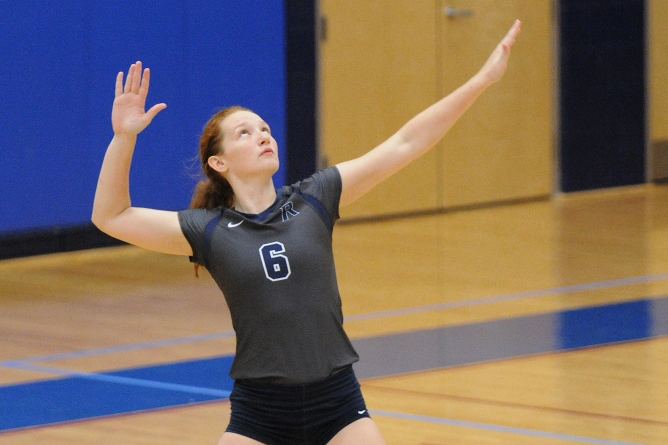Women's Volleyball: Raiders swept by UNE, 3-0