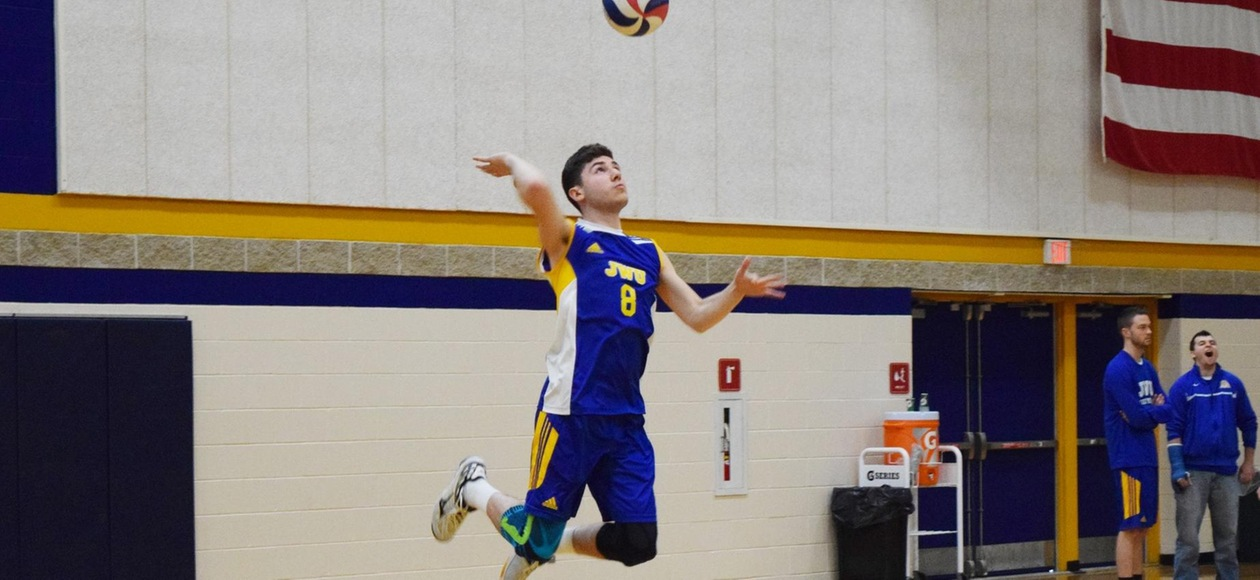 Men's Volleyball Sweeps a Trio of Matches
