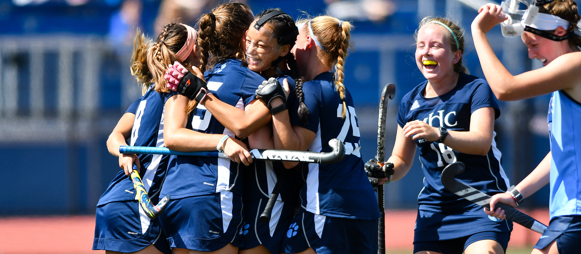 Field Hockey Battles to 2-1 Victory over Springfield College in NEWMAC Play