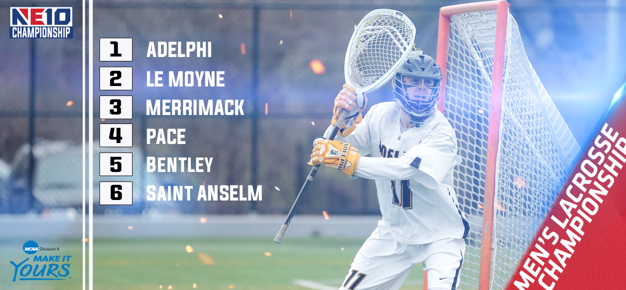 Adelphi Claims Top Seed in NE10 Men's Lacrosse Championship