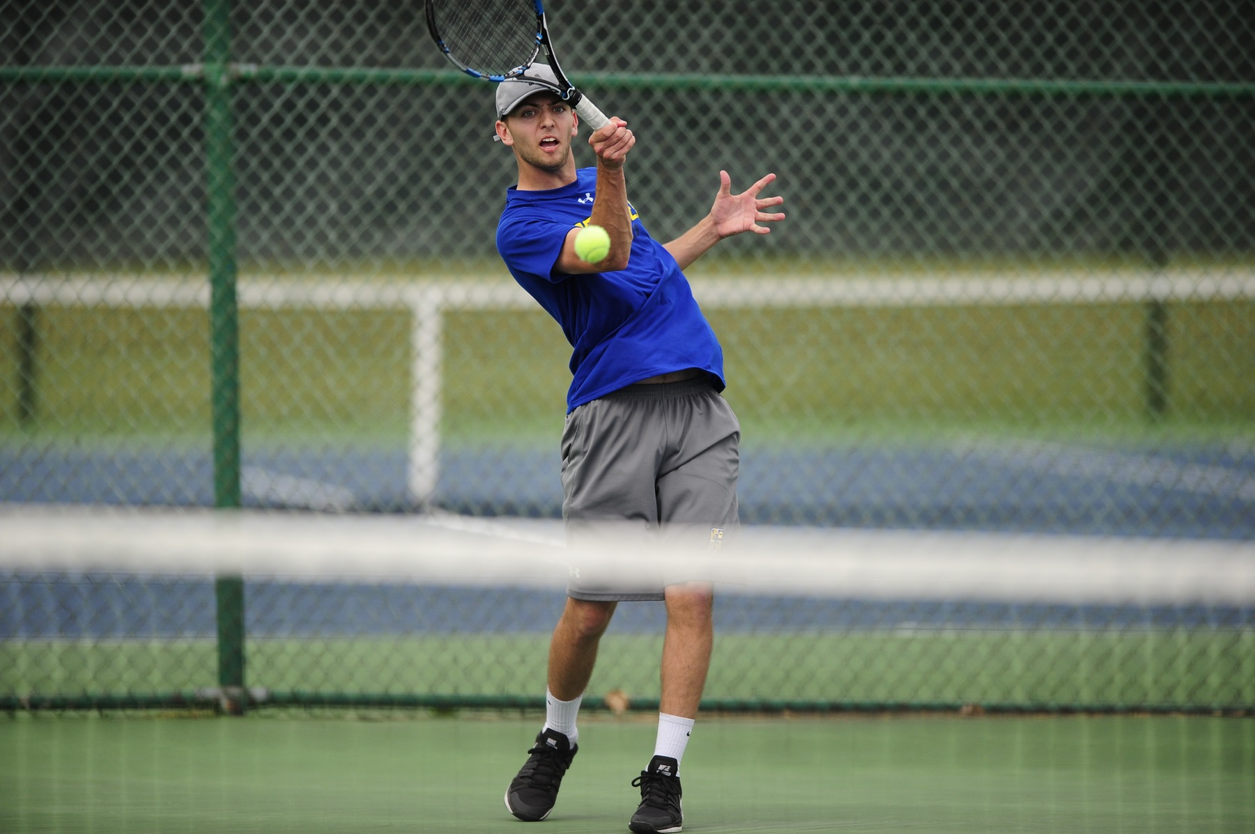 Men's Tennis Dominates Both Matches at Home on Saturday