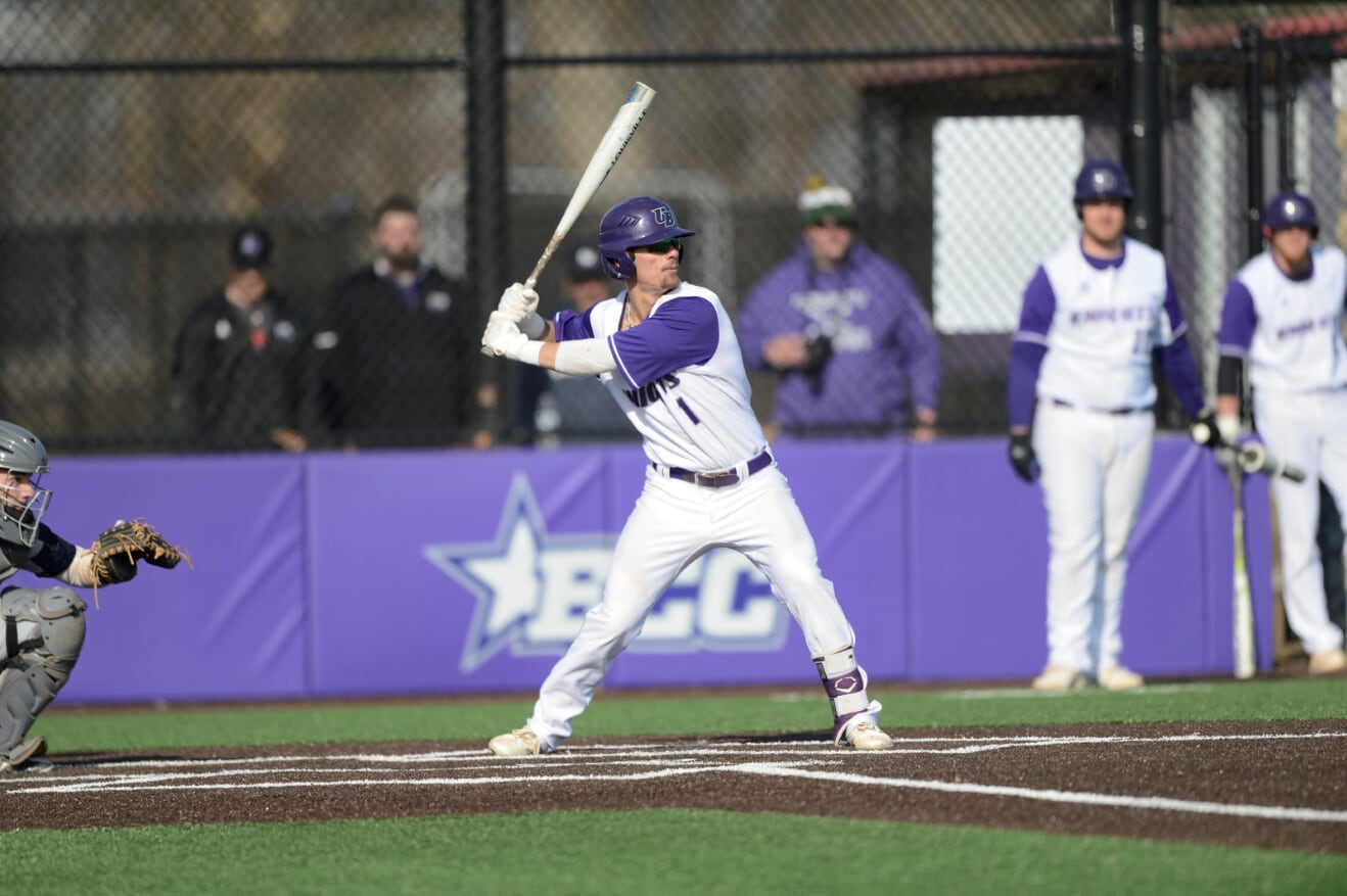 Freshman Cory Listing's Walk-Off Double Lifts UB Baseball To Game One 1-0 Win Over LIU Post In Sunday Doubleheader Split