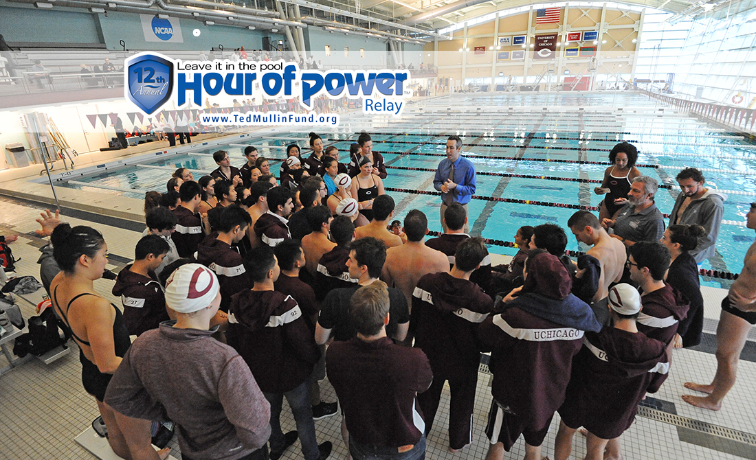"UChicago Swimming & Diving Set to Take Part in Annual Ted Mullin ""Hour of Power"" Event"