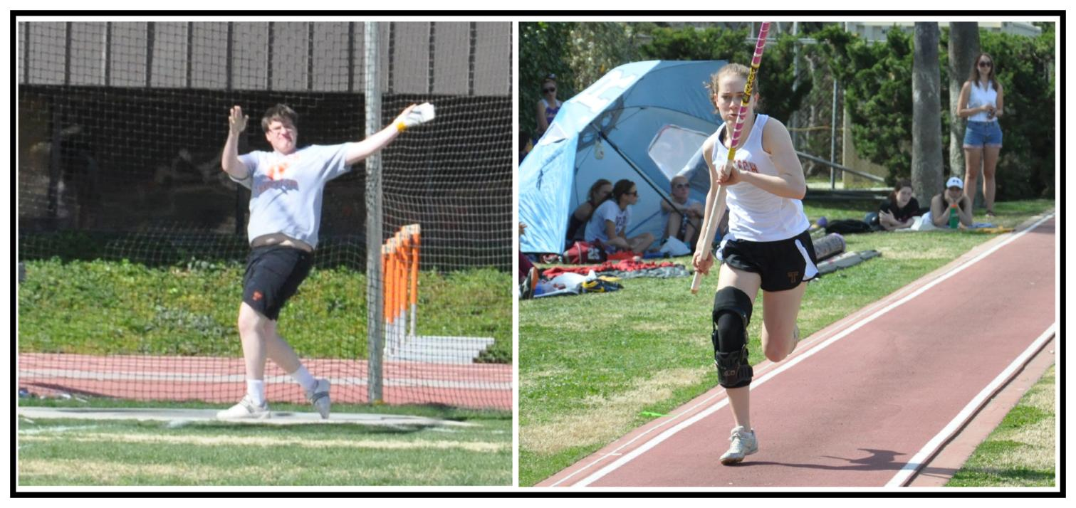 Final SCIAC Meet for Caltech Track/Field