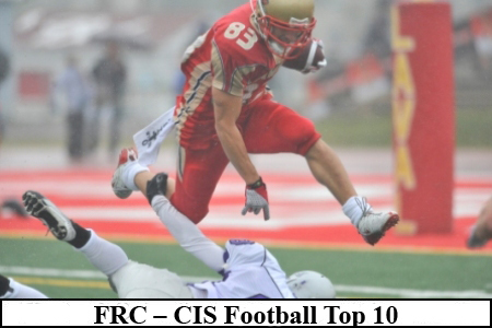 FRC – CIS Football Top 10 (#4): Laval remains at No. 1 for third week