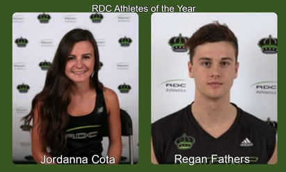 Cota & Fathers recognized as Red Deer Bottling RDC Athletes of the Years