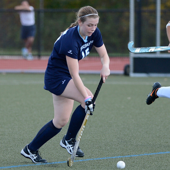 Field Hockey Falls to Wellesley in NEWMAC Quarterfinals