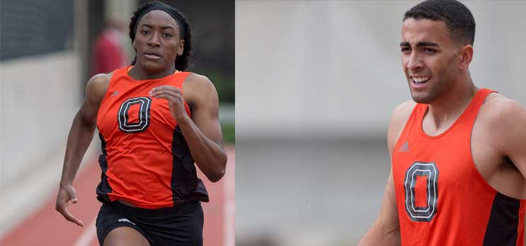 Oxy Track Records Eight PRs, Two D3 Top 20 Times