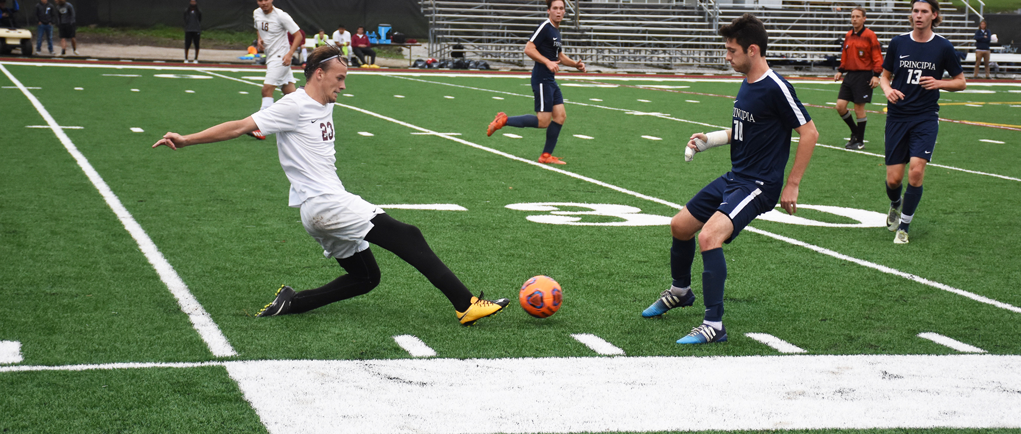 Principia Shuts Out Red Devils, 4-0