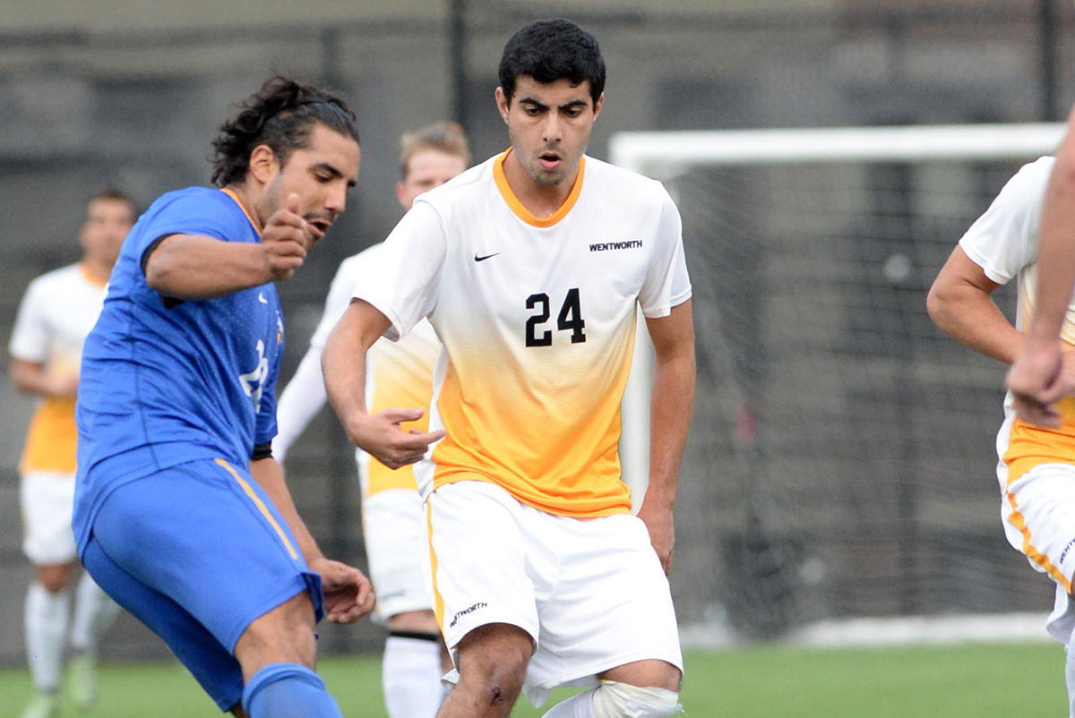 Late Goal Helps Mass. Maritime Edge Men's Soccer
