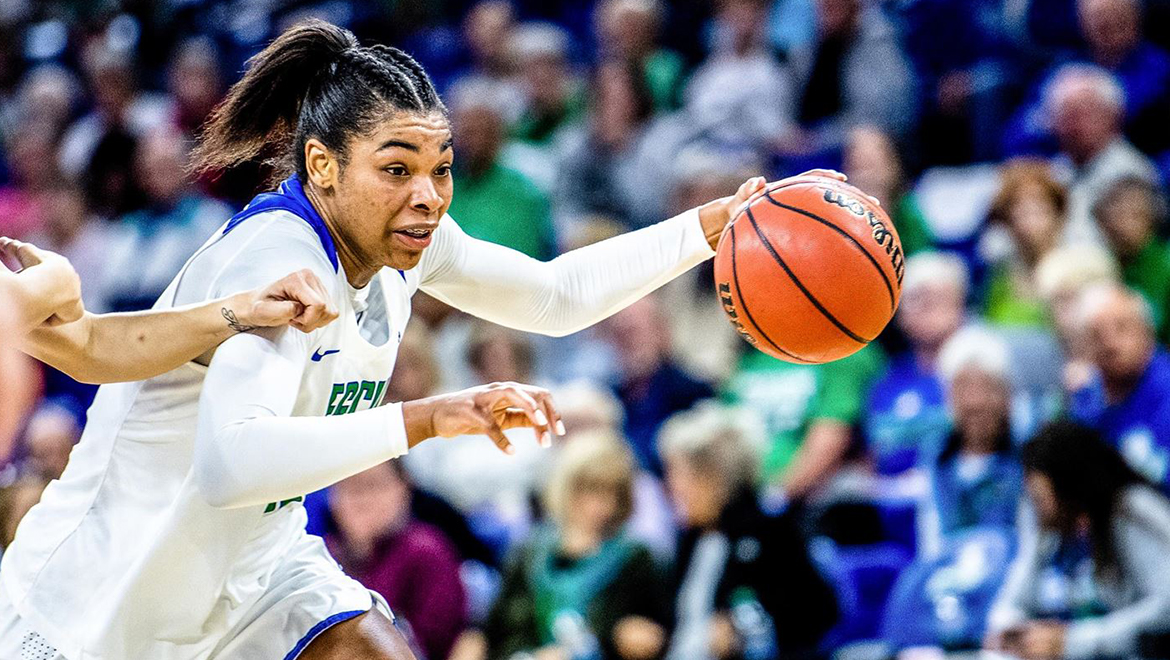 Adderly Breaks Rebounding Record, FGCU Rolls Past Johnson and Wales