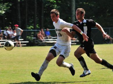 Men's Soccer Suffers Tough Loss to Berry, 2-1