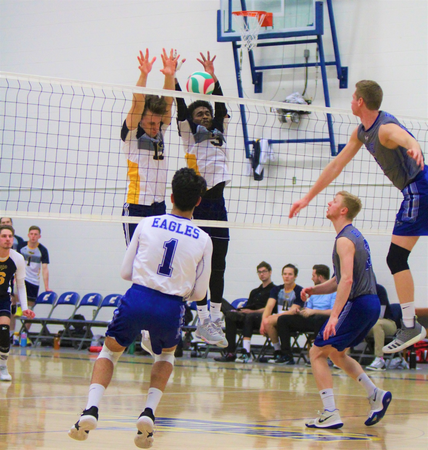 Thunder Falls In Four Sets To The Eagles