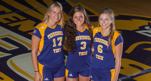 Home Finale: Golden Eagle volleyball team to send off three on Senior Day