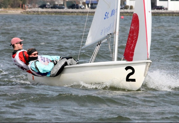 Coed Sailing Fifth at John Jackson Team Race
