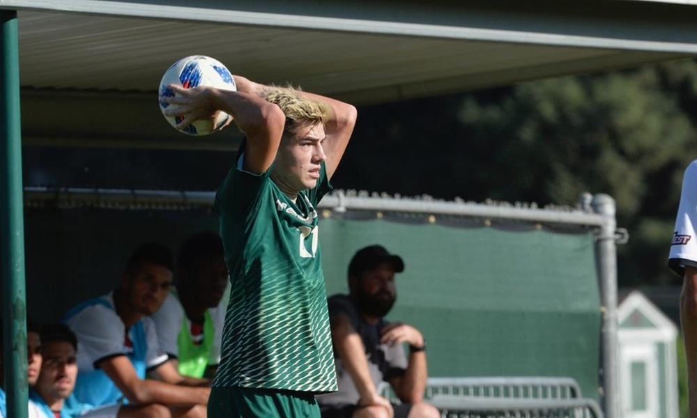 MEN'S SOCCER FALLS AT CAL POLY AFTER LATE FLURRY OF MUSTANGS OFFENSE
