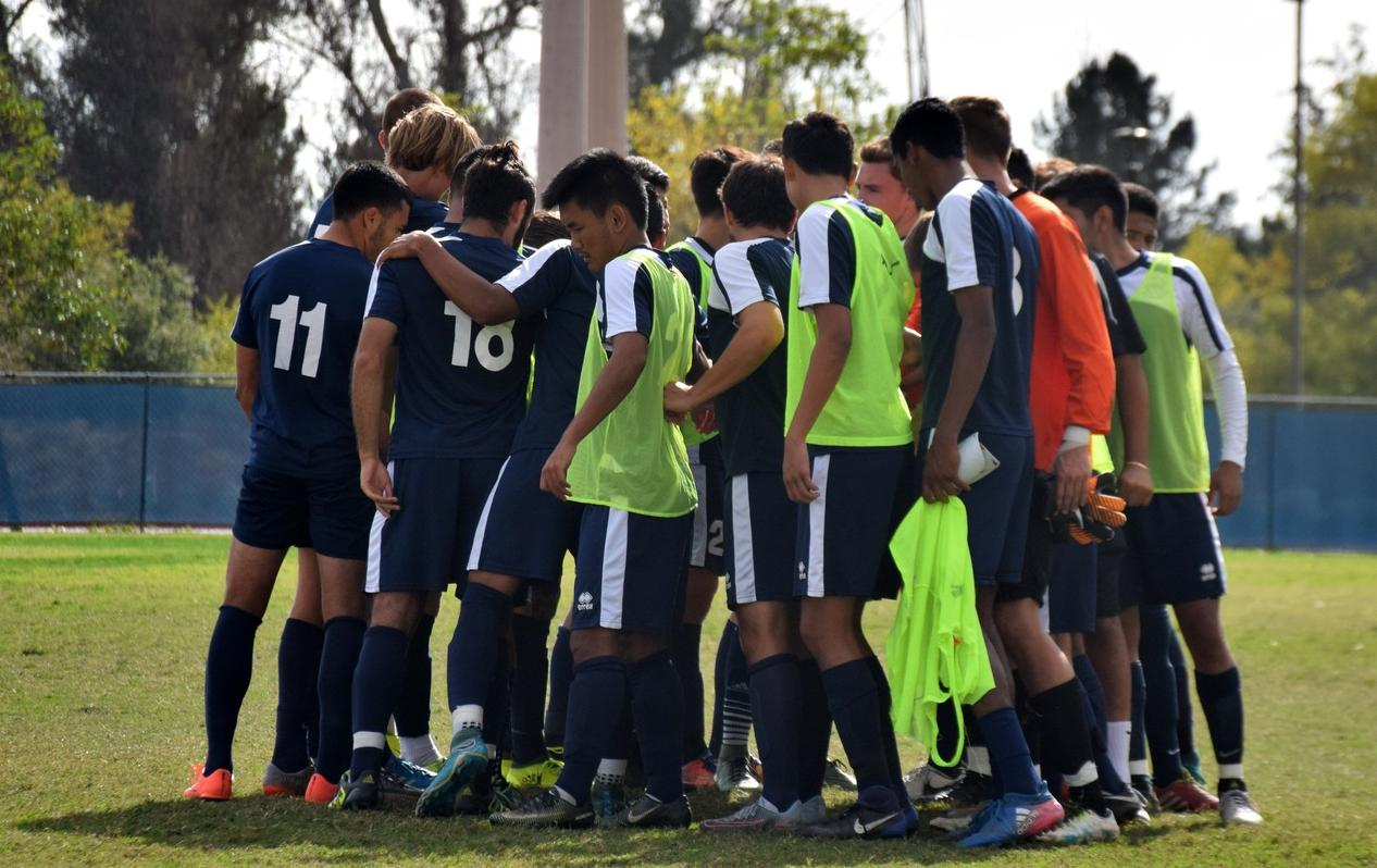 Men's soccer team back in state rankings at No. 13