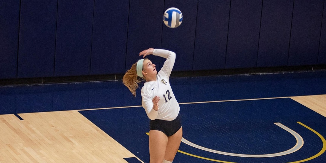 No. 2 Johnson & Wales Ends Volleyball Season in Straight Sets in GNAC Semis