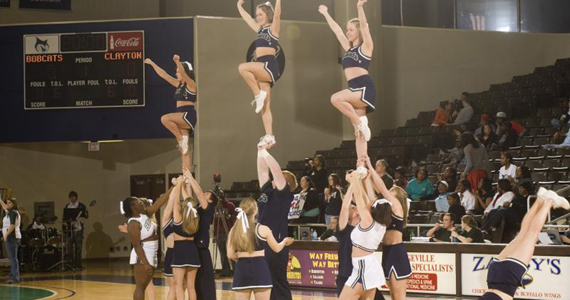 Bobcat Cheerleading to Hold Tryouts Aug. 30 and Sept. 1