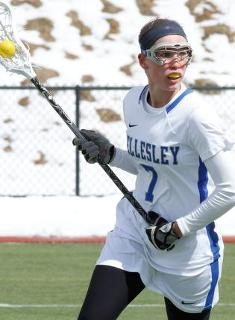 Wellesley Lacrosse Tops Lasell, 14-10