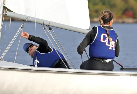 Barnes and Morin Named NEISA Women's Sailors of the Week