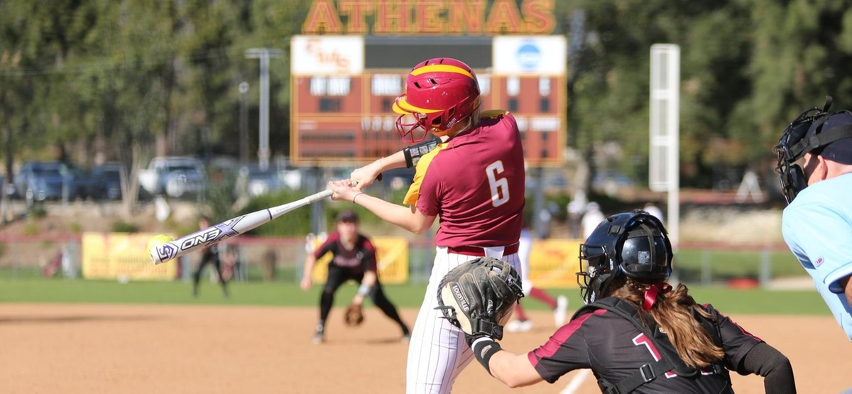 Molly Spaniac had two hits in each game, including a two-run double in the opener