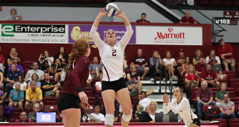 Kirsten Mead had her fourth-career 20-20 match in the Bronco victory on Saturday afternoon.