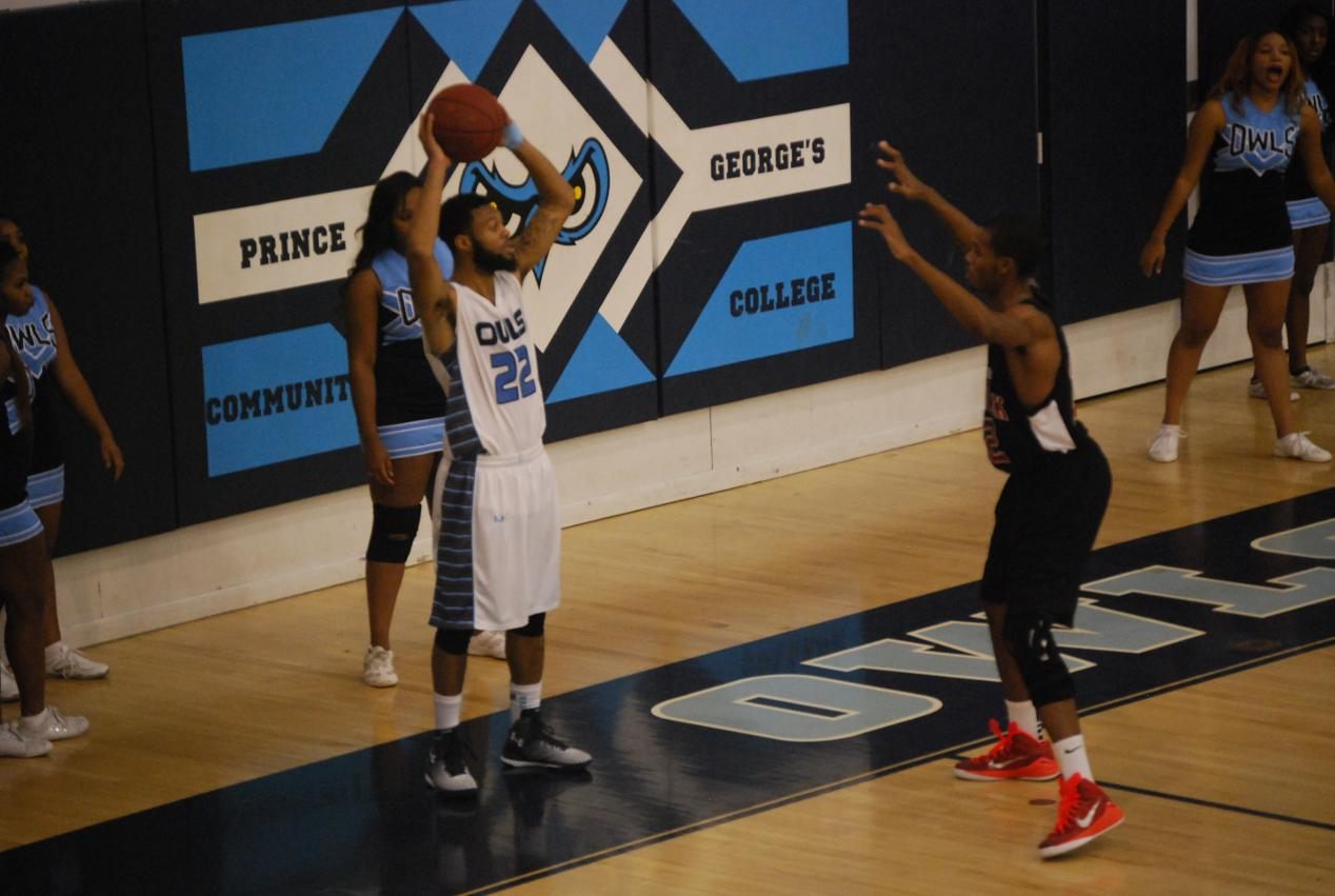 Men's Basketball vs CCBC Allegheny - Prince George's Community College