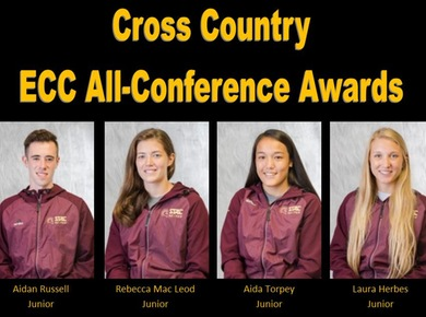 Four Spartans Named All-Conference in Cross Country