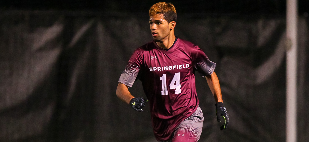 Men's Soccer Strikes Late; Defeats Stevens, 2-1