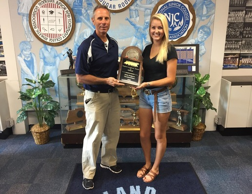Haley Hodgson Wins Highest Academic Award