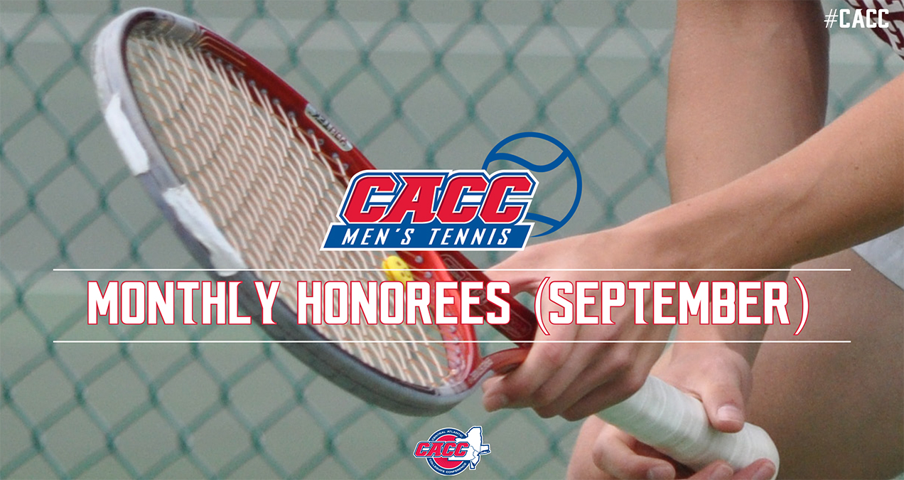 CACC Men's Tennis Monthly Honorees (September 2017)