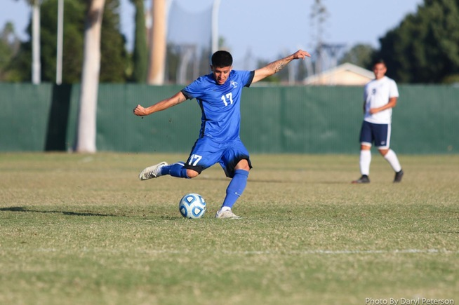 File Photo: Bryan Ortega scored the team's first goal against Long Beach City