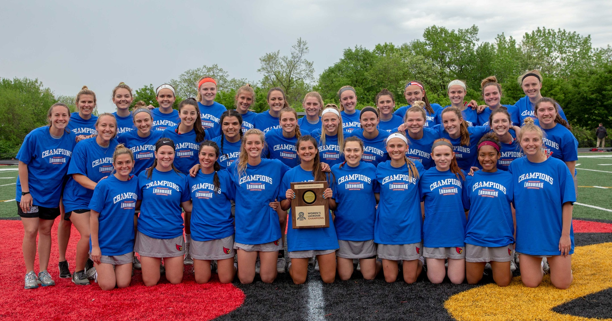 Women's Lacrosse Claims Fifth Straight Landmark Crown