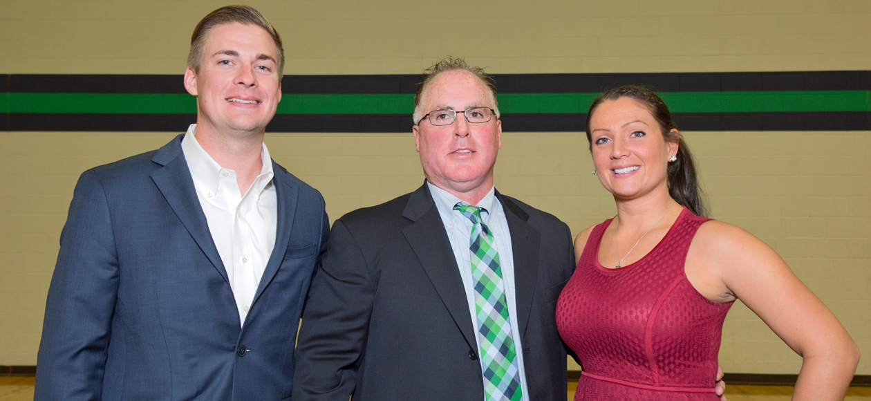 Lally '06, Sargent Plath '09 Inducted Into Endicott Athletics Hall Of Fame