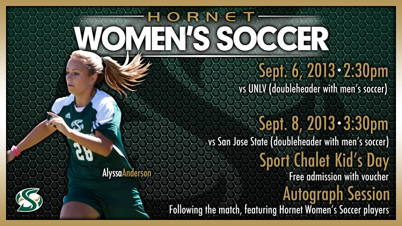 WOMEN'S SOCCER OPENS HOME SLATE WITH TWO MATCHES