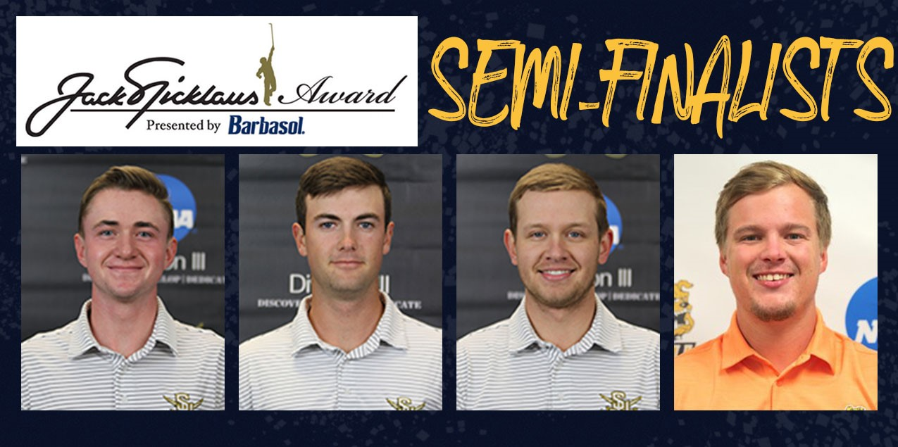Four from SCAC Named Nicklaus Award Semi-Finalists
