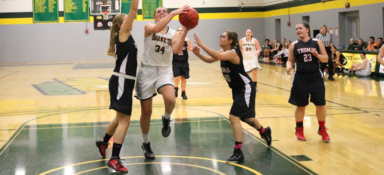 Hornets Edged in Fourth quarter by Mariners