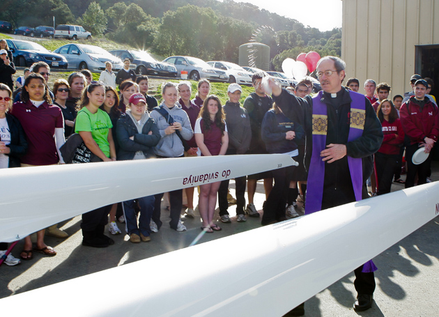 Boat Blessing a `Special Day' for Santa Clara University