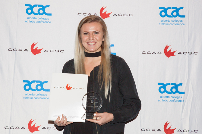 Zacharias named CCAA Player of the Year