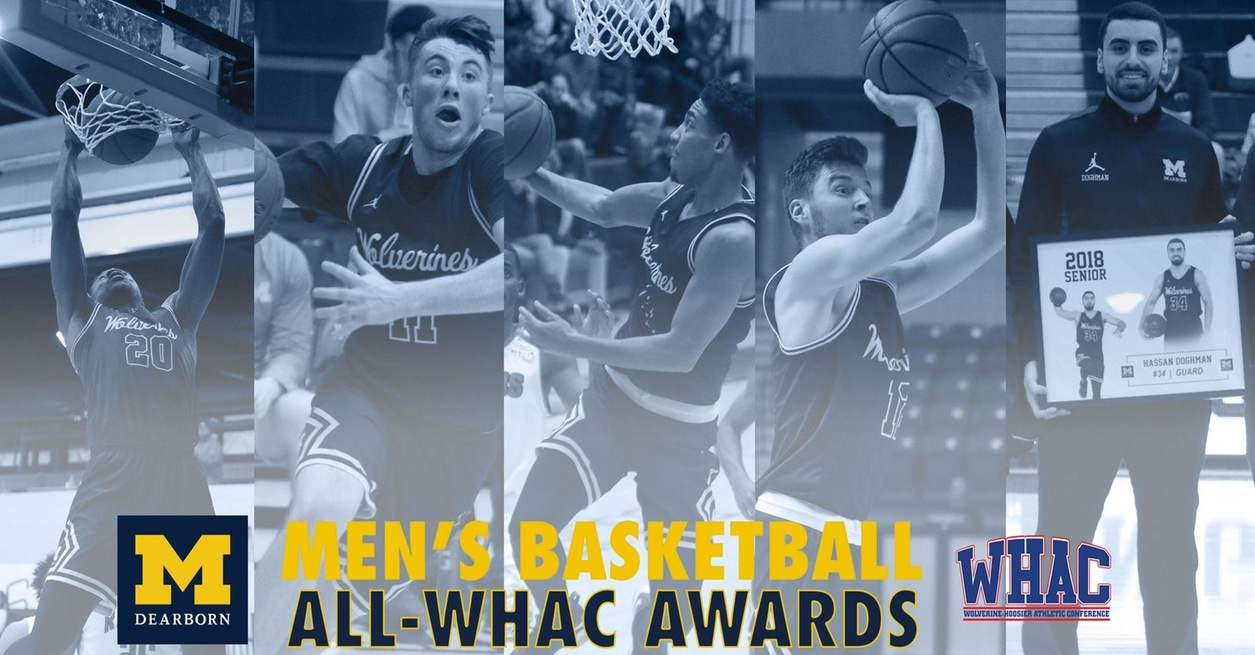 MEN'S BASKETBALL EARNS FIVE POSTSEASON WHAC HONORS