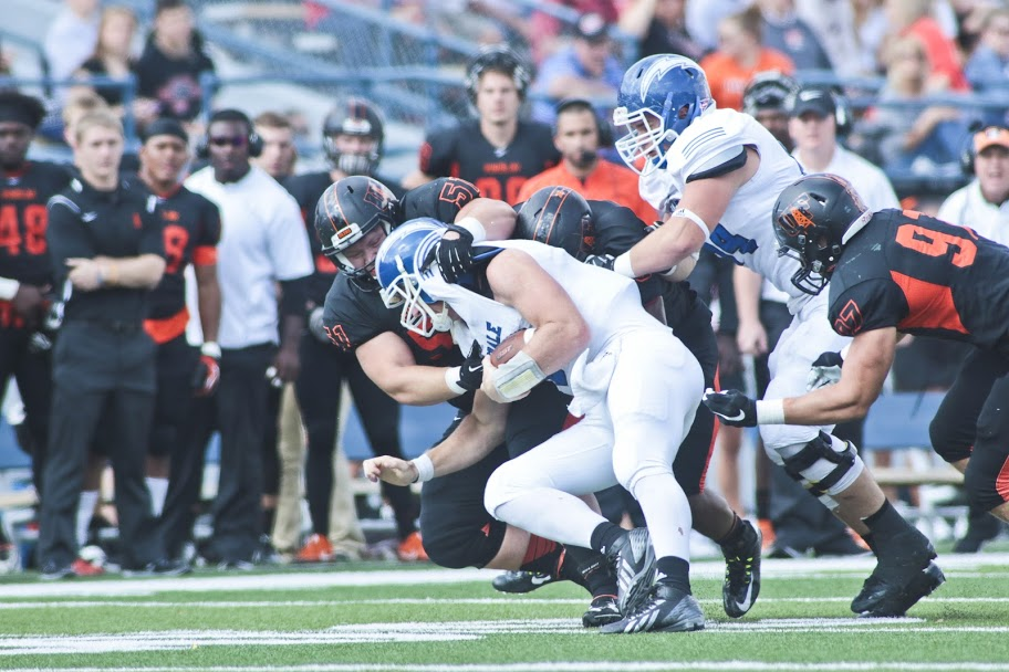 Oilers Earn 46-28 Win on Homecoming